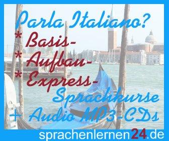 Italienisch lernen mit Superlearning-Technologie